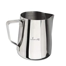 Domini Milk Frothing Pitcher, Stainless Steel Metal 20 oz -F