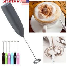 Mini Handy Electric Whisk Mixer Coffee Milk Frother Foamer T