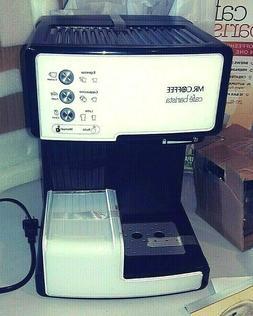 Mr. Coffee Cafe' Barista Espresso and Cappuccino Maker * Whi