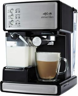 Mr. Coffee Cafe Barista Espresso Maker, Black/Silver