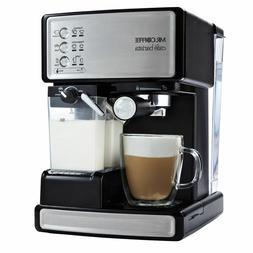 Mr. Coffee Cafe Barista Espresso Maker with Automatic milk f