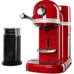 KitchenAid Nespresso Espresso Maker Aeroccino 3 Milk Frother