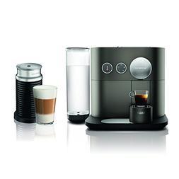 Nespresso Expert Espresso Machine  by De'Longhi with Aerocci