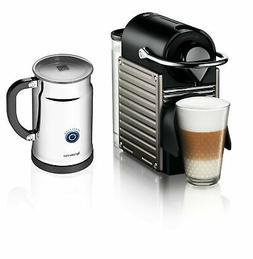 nespresso pixie espresso maker with aeroccino plus
