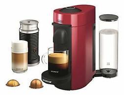 Nespresso VertuoPlus Coffee & Espresso Maker Bundle with Aer