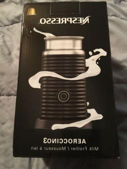 Nestle Nespresso 3694-US-BK Aeroccino3 Milk Frother, One Siz