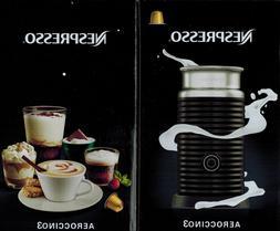 NEW Nespresso Aeroccino 3 BLACK US Automatic Electric Milk F