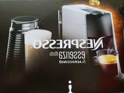 New!! Breville Nespresso Essenza Mini & Aeroccino3 Bundle Bl