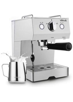 NEW Barsetto Espresso Machine With Milk Frother,Espresso Mak