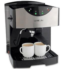 New! Mr Coffee Steam Espresso Machine Hot Cappuccino Latte F