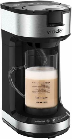 New SBOLY Single Serve Coffee Maker & Hot/Cold Milk Frother