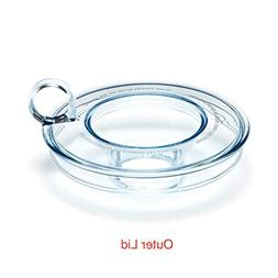 Outer Lid with Cup/Inner Lid for Breville Milk Cafe BMF600XL