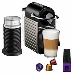 pixie original espresso machine with aeroccino milk