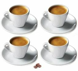 Cuisinox Porcelain Espresso Cups , White