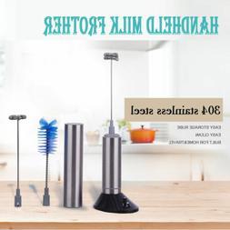 Portable Electric Mixer Handheld Set Stand Brush Foam Wand W