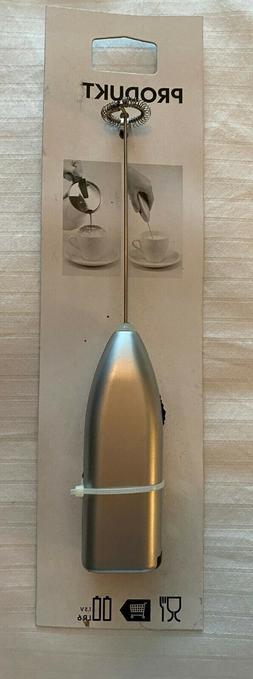 IKEA PRODUKT Milk Frother Handheld Foamer Cordless Coffee Fo