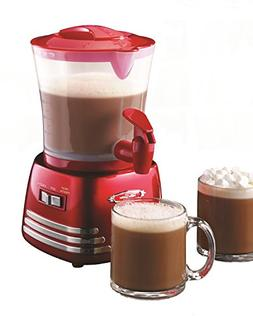 Nostalgia Electrics Retro Series Hot Chocolate Maker, Red, 1