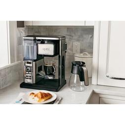 Rich Coffee Bar Glass Carafe System Warming Plate Milk Froth