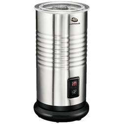 stainless steel electric milk frother warmer