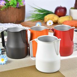 Stainless Steel Expresso Milk Frother Pitcher Latte Coffee J