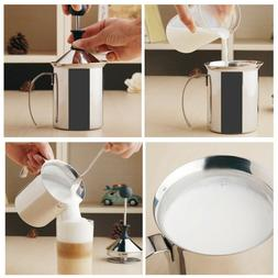Stainless Steel Hand-made Milk Frother Blender Milk Coffee E