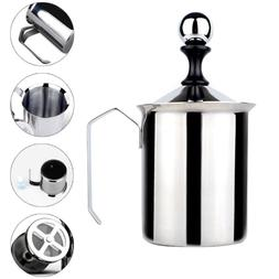 Stainless Steel Milk Frother Coffee Foam Pitcher with Handle