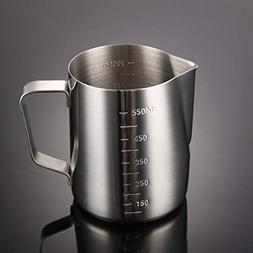BeesClover Thicken Stainless Steel Cup with Double Side Scal