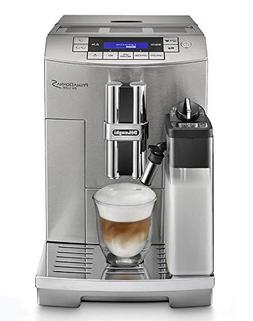 Delonghi super-automatic espresso coffee machine with an adj